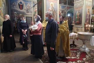 12.01.2021 | Крещальная литургия в Иверском монастыре