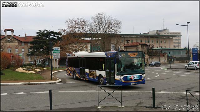 Heuliez Bus GX 327 – Tisséo n°0622
