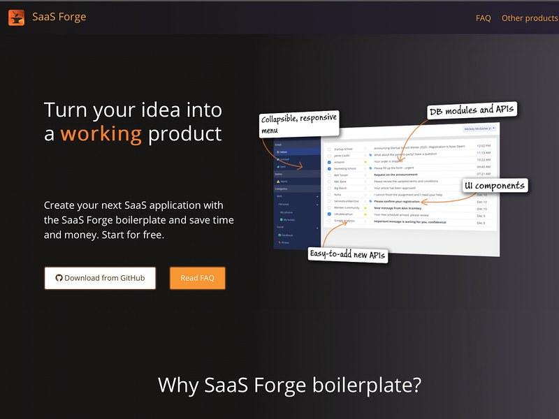 SaaS Forge