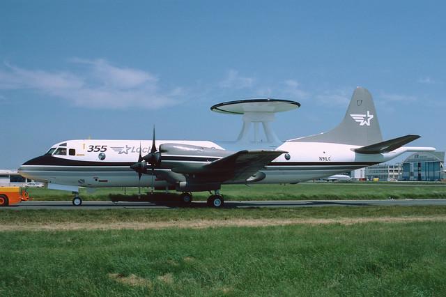 N91LC Lockheed P3 AEW&C LFPB 03-06-85