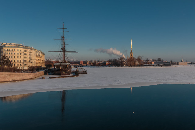 January Ice line - Линия январского льда