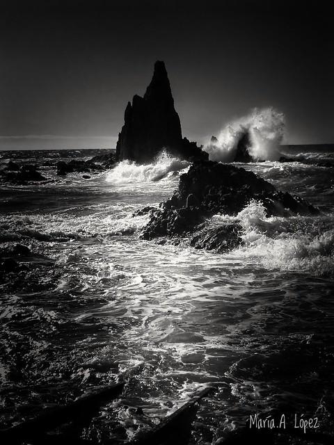 Arrecife de las Sirenas. Cabo de Gata. Almería