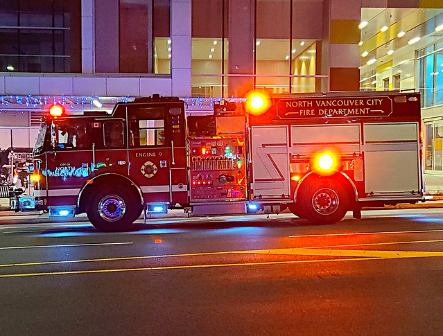 North Vancouver City, BC Engine 9