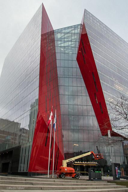 2020-12-13 Place des Spectacles, Montréal