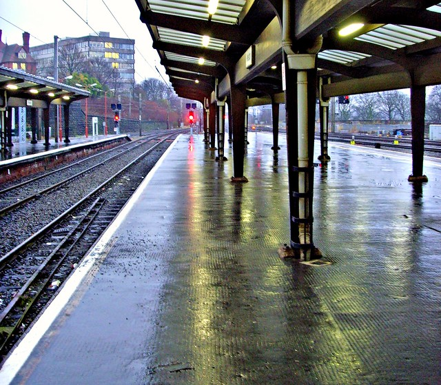 Damp Preston Railway Station