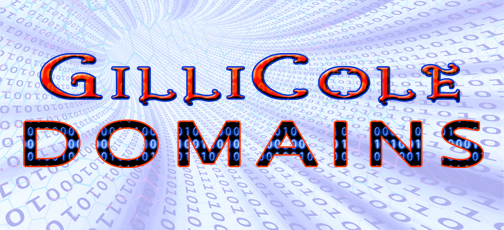 Graphic Design: Logo created for GilliCole Domains