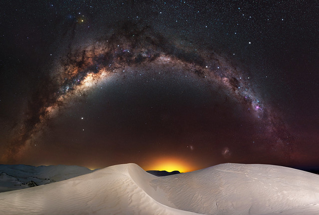 Milky Way at Nambung National Park, Western Australia