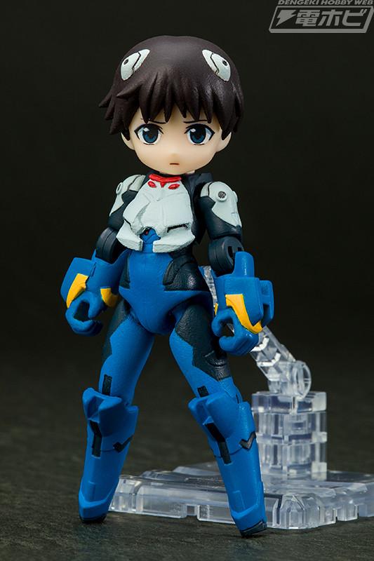 Desktop Army X 福音戰士「碇真嗣&EVANGELION初號機」試作公開!
