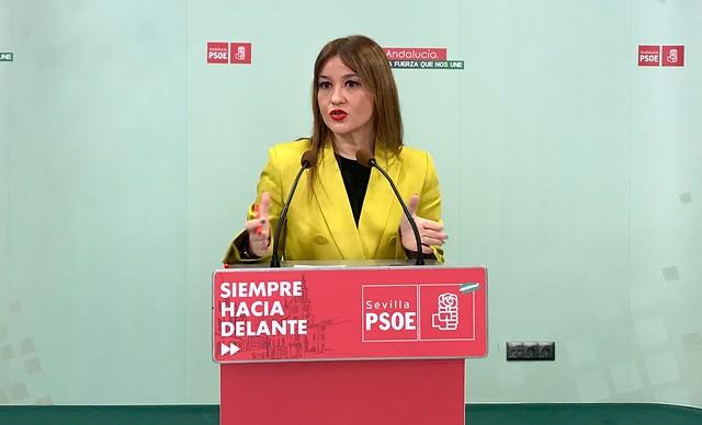 Rueda de prensa Verónica Pérez