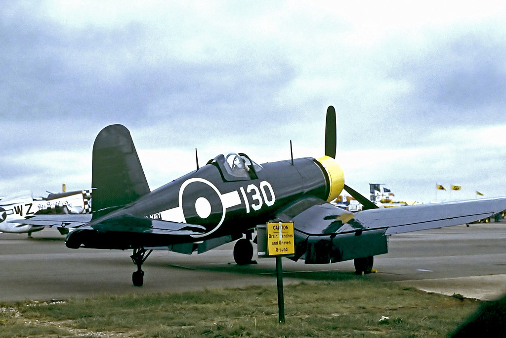 G-FGID   Goodyear FG-1D Corsair [3111] The Fighter Collection Duxford~G @ 06/09/1998