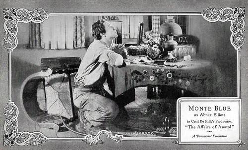 Monte Blue in The Affairs of Anatol (1921)