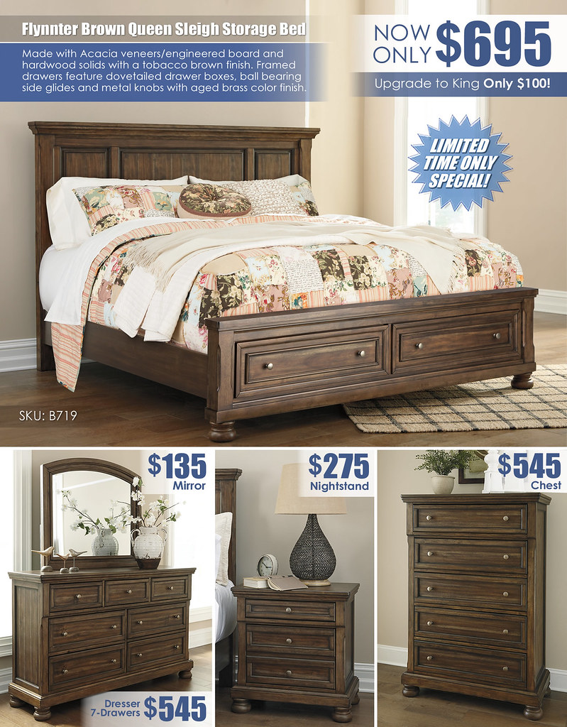 Flynnter Brown Storage Sleigh Bed Special_Layout_B719_Updated