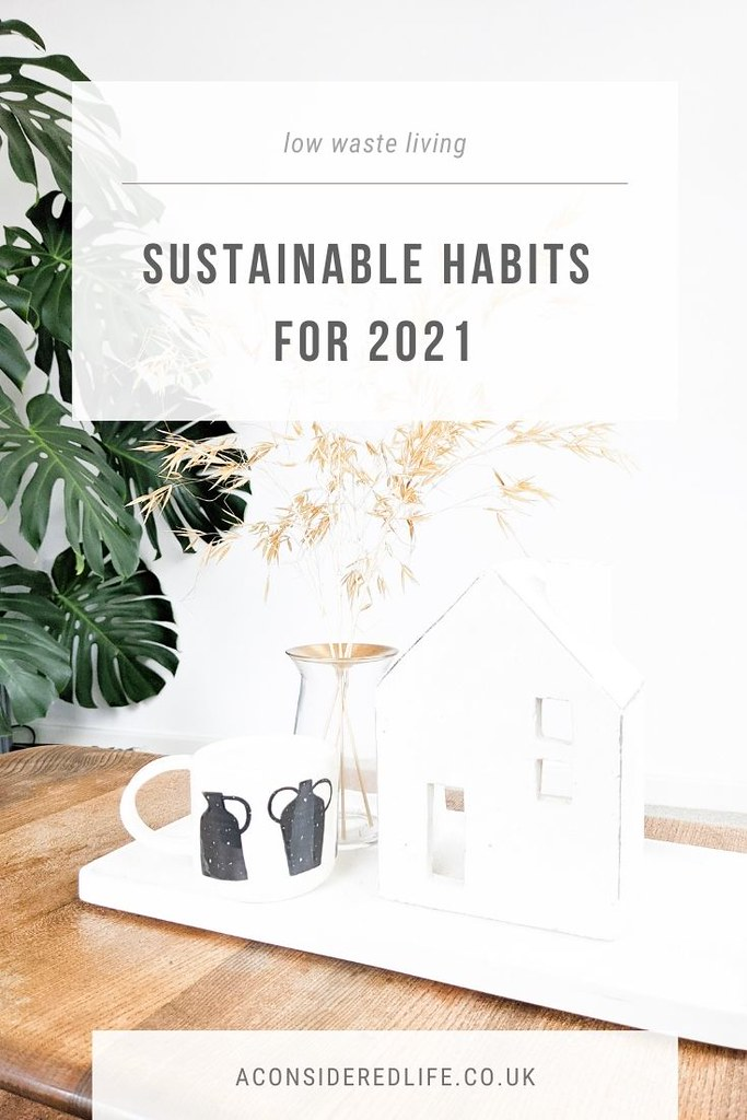 Sustainable Habits For 2021