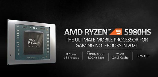 AMR Ryzen 5000 Mobile