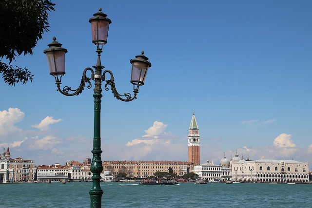 View from Giudecca to San Marco, Venice, Italy