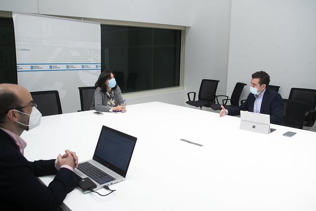 Reunión da Amtega con Orange para coñecer os pilotos 5G
