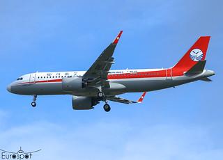 F-WWDV / B-321E Airbus A320-251N Sichuan s/n 10399 - First flight -* Toulouse Blagnac 2021 *