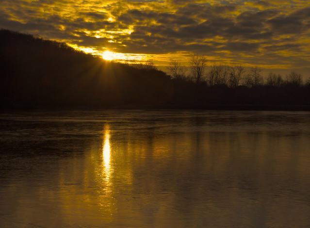 Keystone Lake Sunset