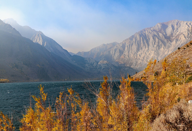 Convict Lake, in the California Eastern Sierras, October 2020