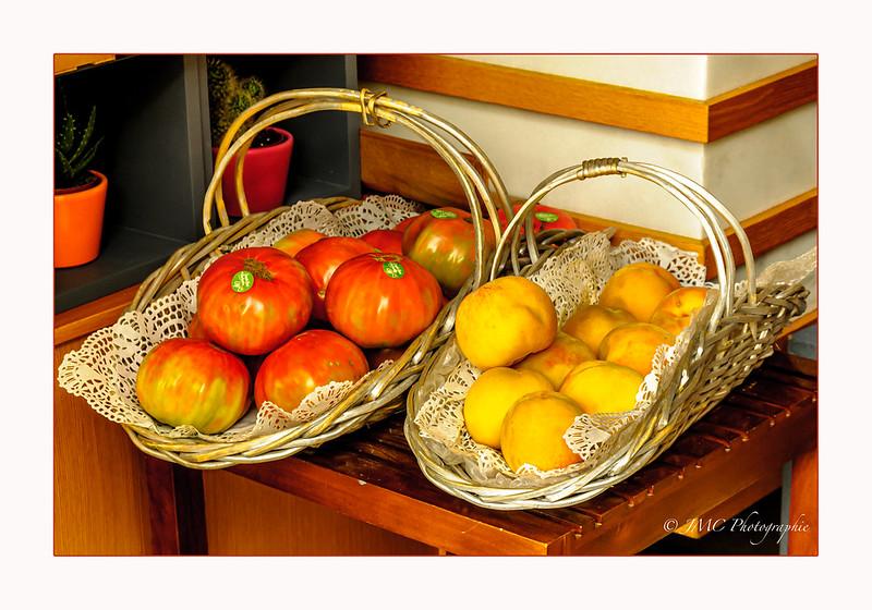 Tomates & Mélocotones