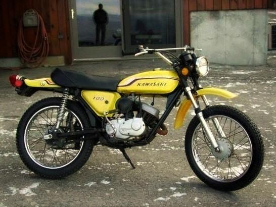 1970s Kawasaki 100