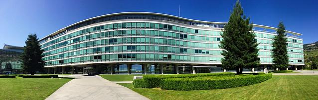 Nestlé Headquarters in Vevey, Switzerland.