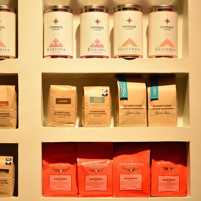 Compass Coffee - Compass Tins Sold at Baked and Wired D.C.