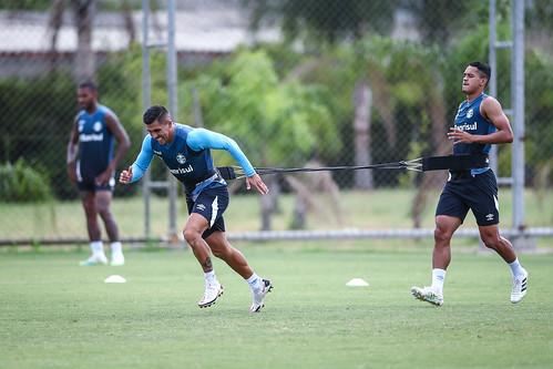 Treino Grêmio 13/01/2021
