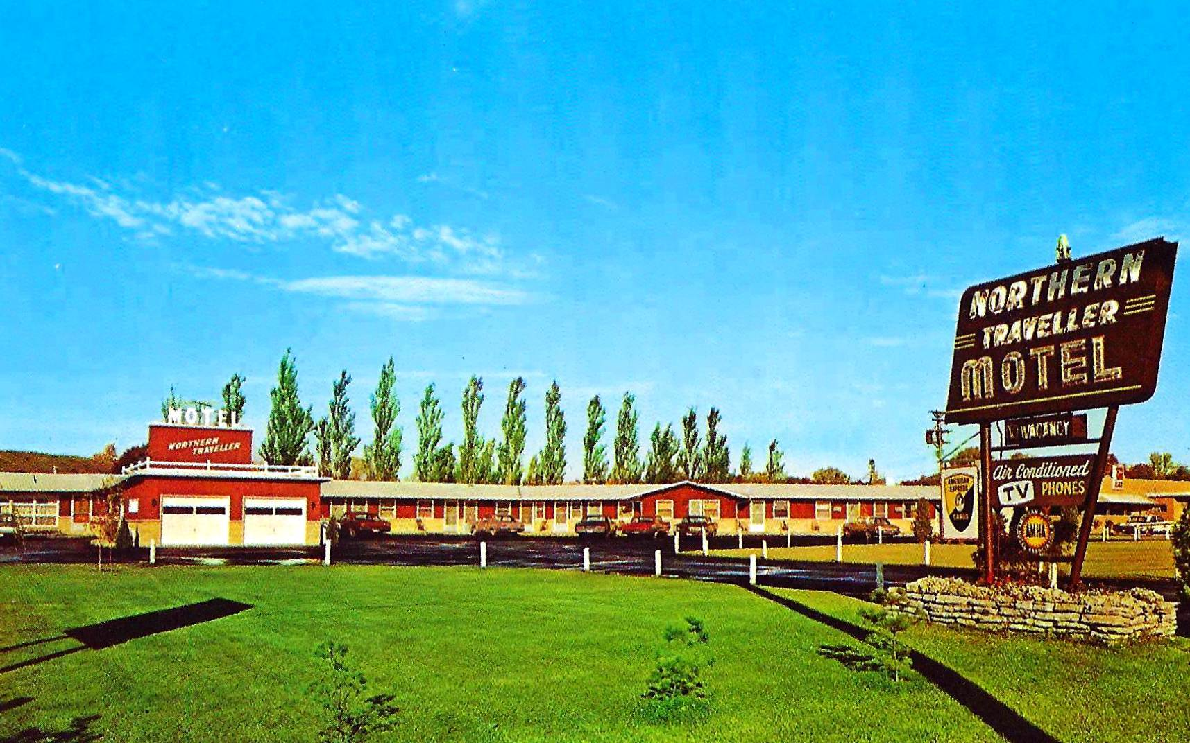 Northern Traveller Motel - Saint Paul, Minnesota U.S.A. - 1960's