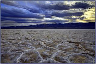 Badwater salt flats...
