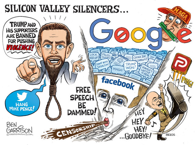 Silicon Valley Censorship