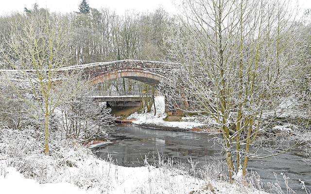 Abbey Bridge, Lanercost, Brampton, Cumbria UK
