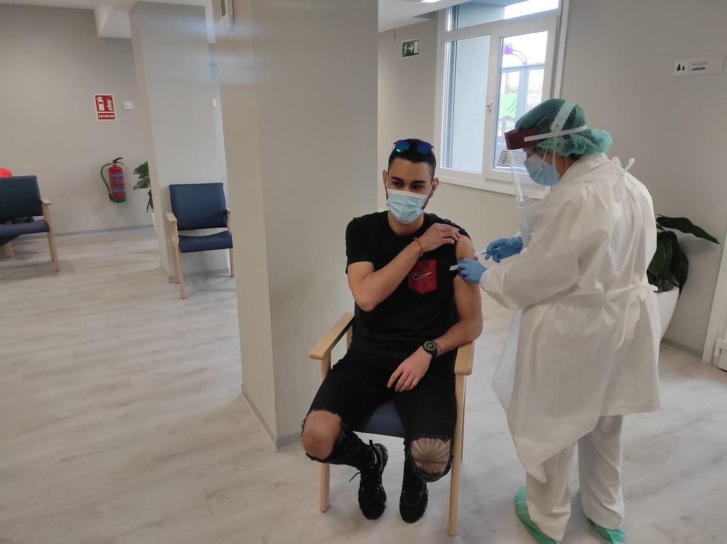 Vacunación contra la Covid en San Antonio Clece Vitam (21)
