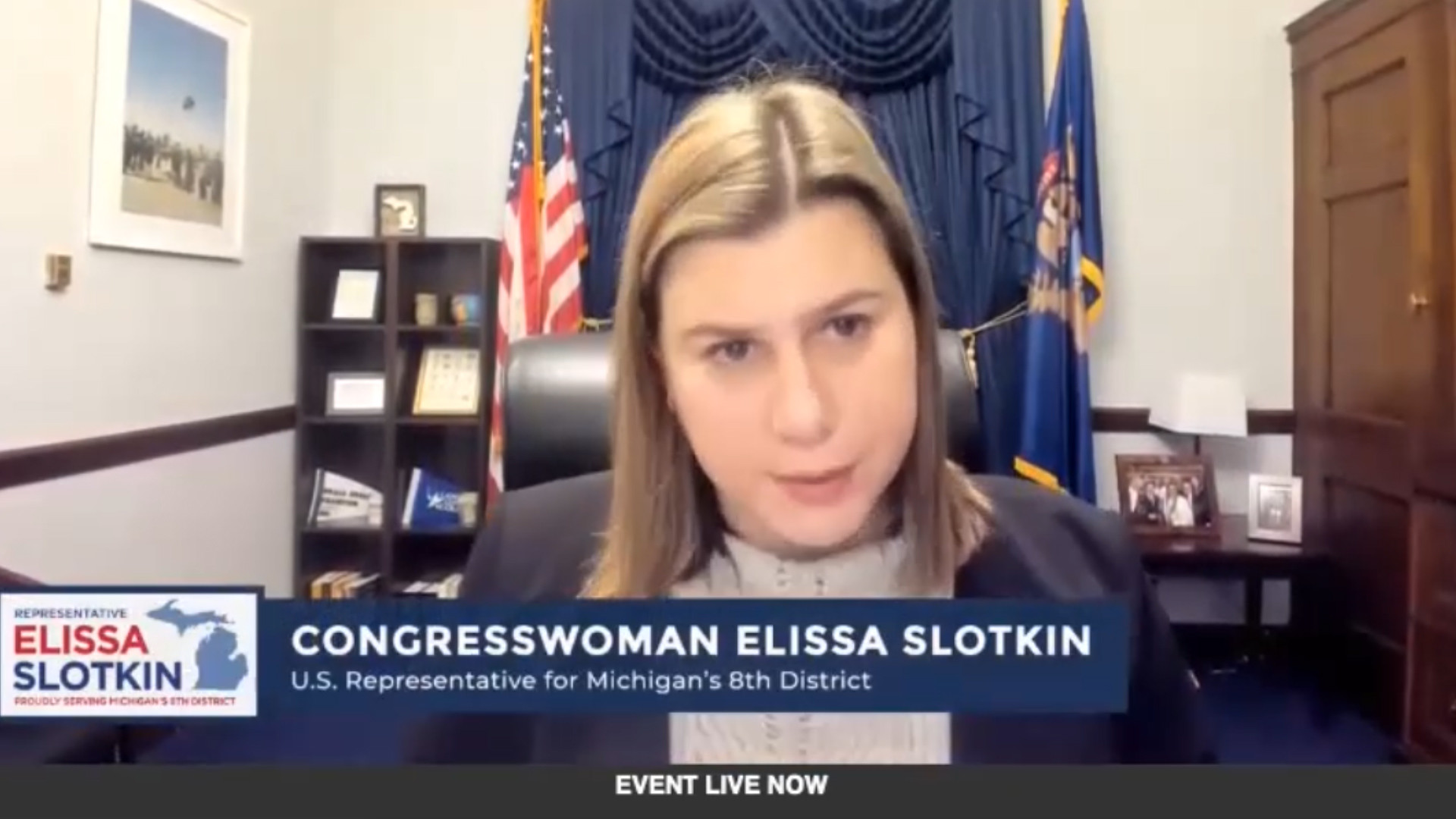 Congresswoman Elissa Slotkin's Response on Impeachment Proceeding