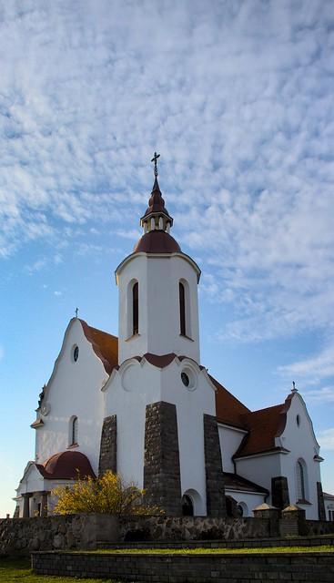 Roman-Catholic Church of the Most Holy Mother of God of the Holy Rosary / Костёл Матери Божьей Святого Розария