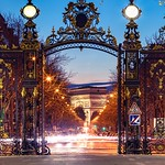 Arc de Triomphe depuis le Parc Monceau