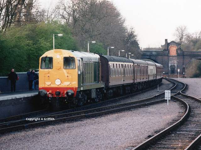 D8098 at Leicester North 1994