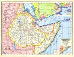 Abyssinia, Italian Eritrea, & Somaliland