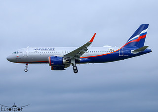 F-WWIJ / VP-BPM Airbus A320-251N Aeroflot s/n 10258 - First flight -* Toulouse Blagnac 2021 *