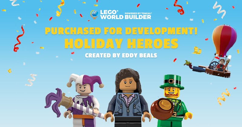 LEGO World Builder Holiday Heroes