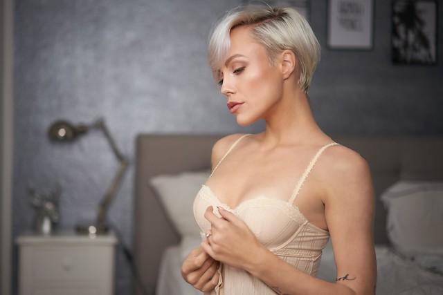 Miri in her bedroom