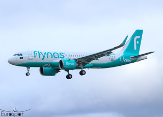 F-WWIV / HZ-NS34 Airbus A320-251N Fly Nas s/n 10350 * Toulouse Blagnac 2021 *