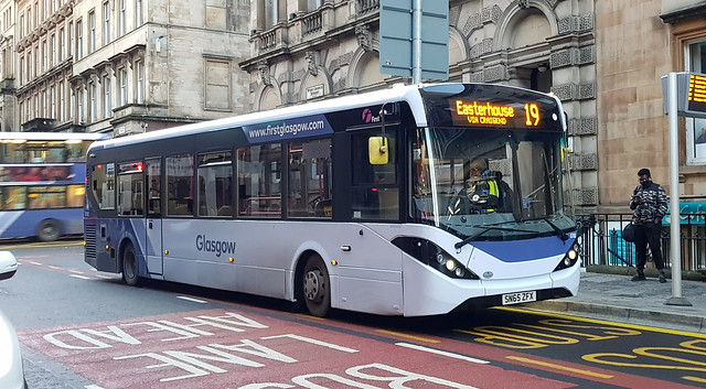 First Glasgow Alexander Dennis Enviro 200 MMC 67082