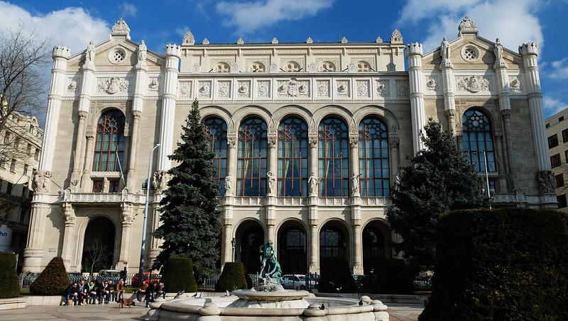 Vigadó Square, Budapest, Hungary