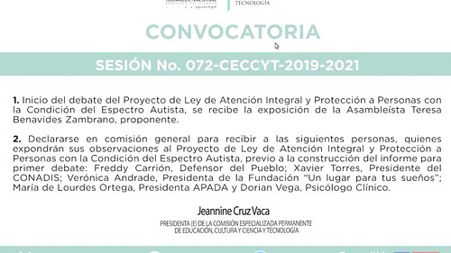 COMISIÓN DE EDUCACIÓN - VIRTUAL. ECUADOR, 13 DE ENERO 2021