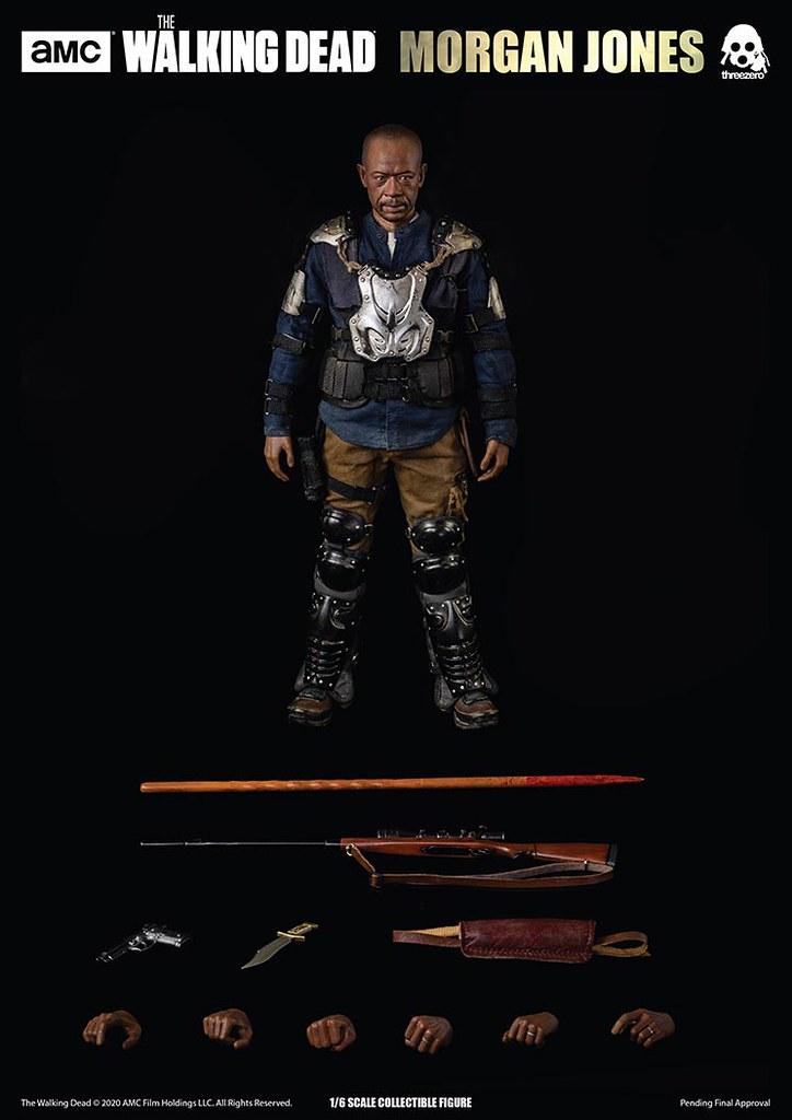 和平與戰爭間的掙扎!threezero《陰屍路》摩根‧瓊斯 1/6比例立體可動人形