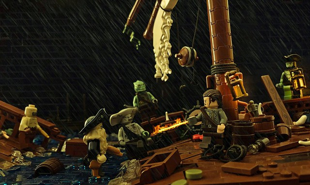 """Jack Sparrow Sent Me to Settle His Debt"""