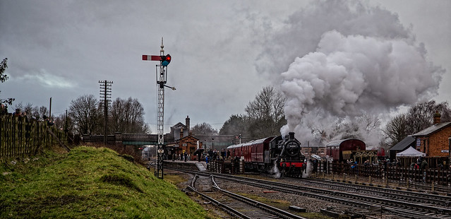 Ivatt with the Mail