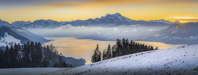 _DSC31004_05 Amazing panorama above the Lake Atter / Upper-Austria