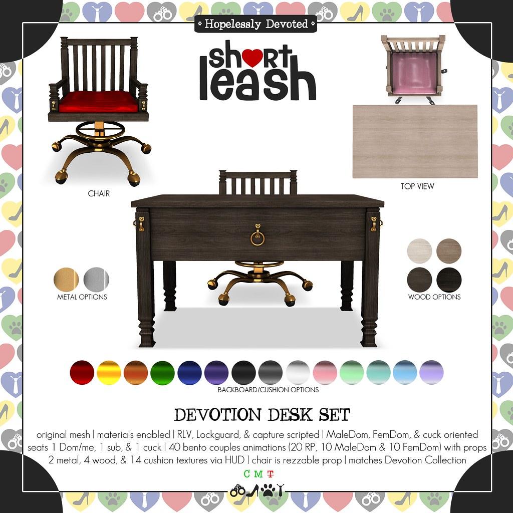 .:Short Leash:. Devotion Desk Set